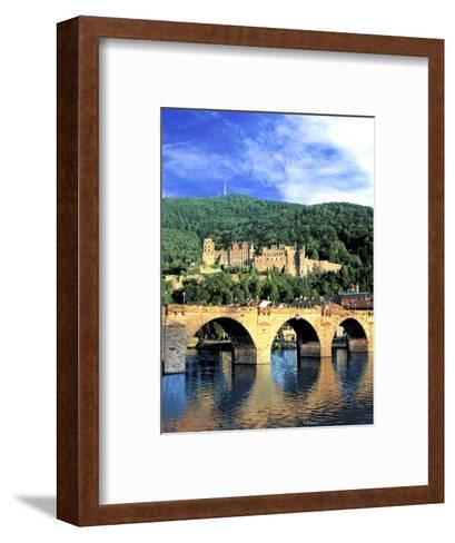 Heidelberg Castle, Heidelberg, Germany-Miva Stock-Framed Art Print