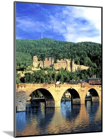 Heidelberg Castle, Heidelberg, Germany-Miva Stock-Mounted Photographic Print