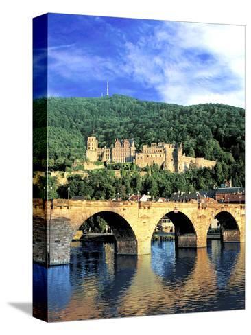 Heidelberg Castle, Heidelberg, Germany-Miva Stock-Stretched Canvas Print