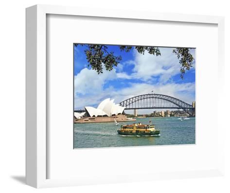 Sydney Opera House, Sydney, New South Wales, Australia-Miva Stock-Framed Art Print