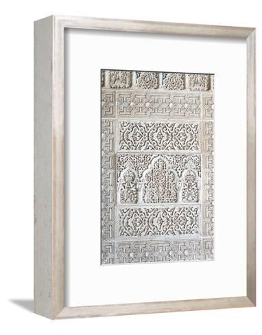 Nasrid Palace, Alhambra, Granada, Andalucia, Spain-Rob Tilley-Framed Art Print