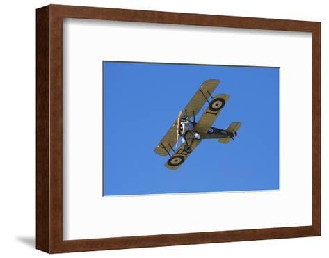 Sopwith Camel, WWI Fighter Plane, War Plane-David Wall-Framed Art Print