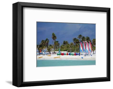 Watercraft Rentals at Castaway Cay, Bahamas, Caribbean-Kymri Wilt-Framed Art Print
