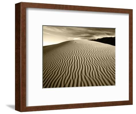 Mojave Desert Sand Dunes, Death Valley National Park, California, USA-Adam Jones-Framed Art Print