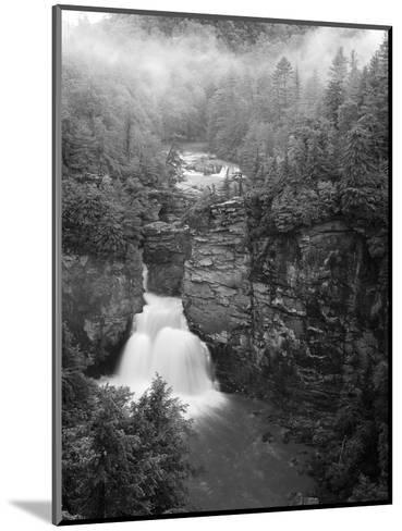 Linville Falls, Linville Gorge, Pisgah National Forest, North Carolina, USA-Adam Jones-Mounted Photographic Print