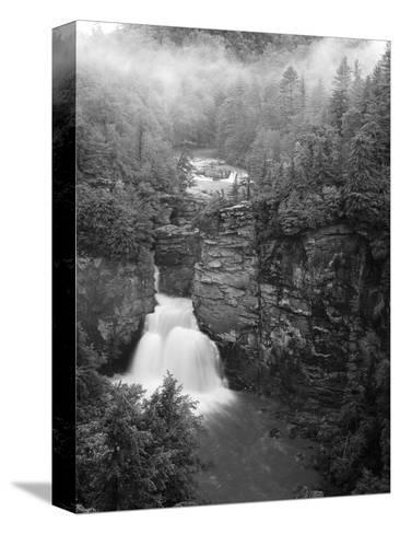 Linville Falls, Linville Gorge, Pisgah National Forest, North Carolina, USA-Adam Jones-Stretched Canvas Print
