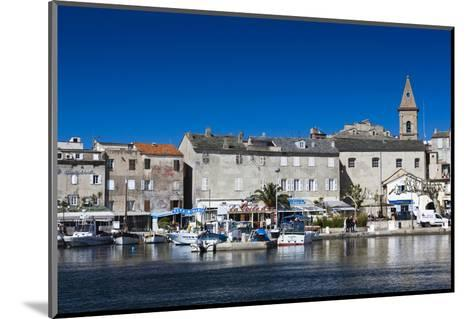 Port View of St-Florent, Le Nebbio, Corsica, France-Walter Bibikow-Mounted Photographic Print