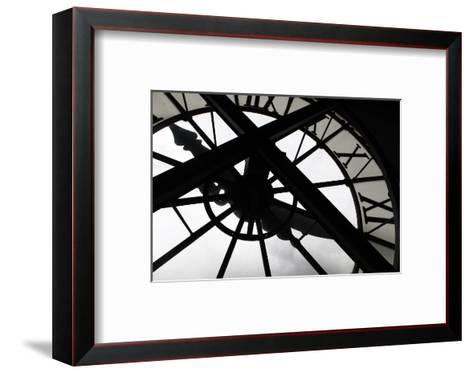 Clock at Musee D'Orsay, Paris, France-Kymri Wilt-Framed Art Print