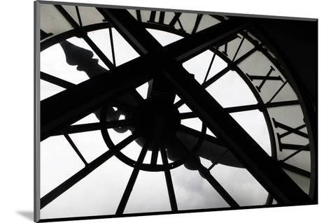 Clock at Musee D'Orsay, Paris, France-Kymri Wilt-Mounted Photographic Print