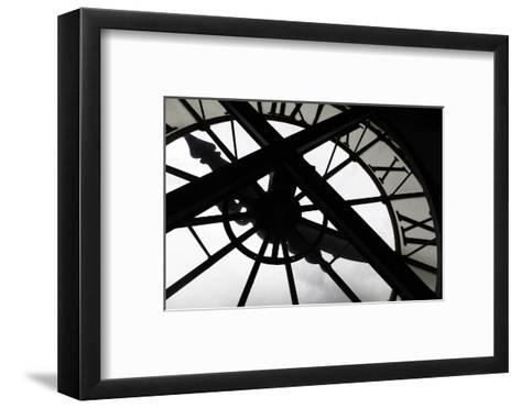Clock at Musee D'Orsay, Paris, France-Kymri Wilt-Framed Art Print