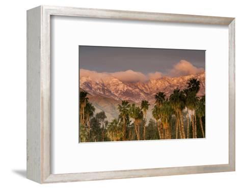 Jacinto and Santa Rosa Mountain Ranges, Palm Springs, California, USA-Richard Duval-Framed Art Print