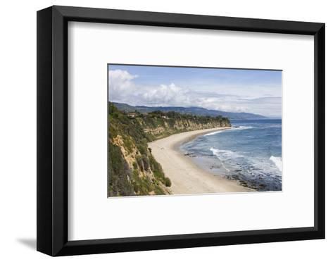 Point Dume, Malibu, California, USA-Peter Bennett-Framed Art Print
