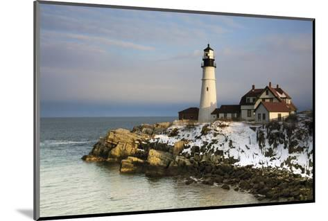 Portland Head Light, Cape Elizabeth, Casco Bay, Maine, USA-Michel Hersen-Mounted Photographic Print