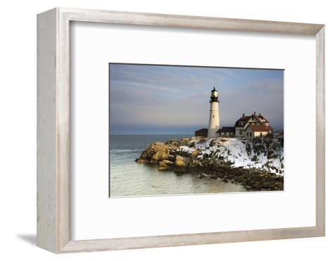 Portland Head Light, Cape Elizabeth, Casco Bay, Maine, USA-Michel Hersen-Framed Art Print
