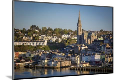 St. Coleman Church and Harbor Town of Cobh, County Cork, Ireland-Brian Jannsen-Mounted Photographic Print
