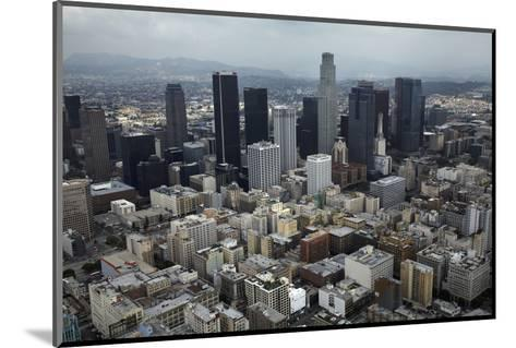 Aerial View. of Downtown Los Angeles-David Wall-Mounted Photographic Print
