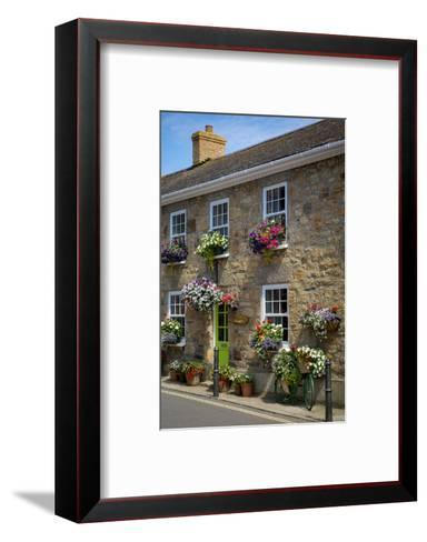 Entrance to Smugglers Bed and Breakfast in Marazion, Cornwall, England-Brian Jannsen-Framed Art Print