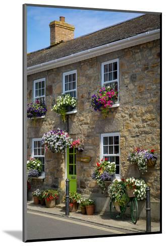 Entrance to Smugglers Bed and Breakfast in Marazion, Cornwall, England-Brian Jannsen-Mounted Photographic Print