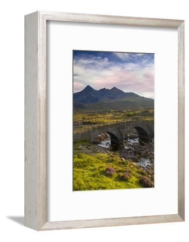 Stone Bridge over River Slichagan, Slichagan, Isle of Skye, Scotland-Brian Jannsen-Framed Art Print