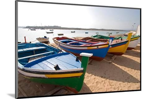 Colorful Fishing Boats of Alvor, Portugal, Europe-Susan Degginger-Mounted Photographic Print