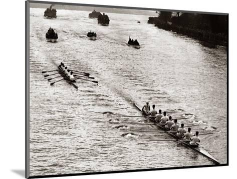 Rowing, Oxford V Cambridge Boat Race, 1928--Mounted Photographic Print
