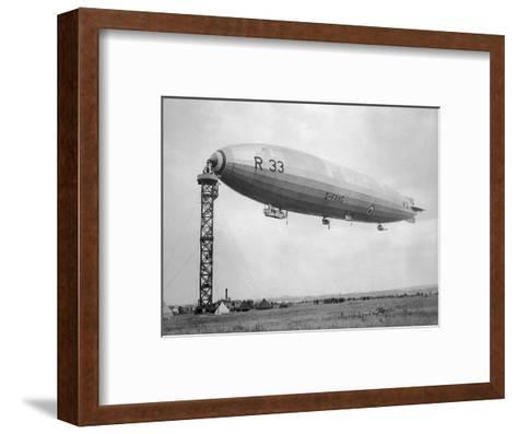 Armstrong Whitworth R33 Airship G-Faag, 1925--Framed Art Print