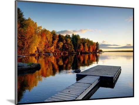 Maine, Baxter State Park, Lake Millinocket, USA-Alan Copson-Mounted Photographic Print