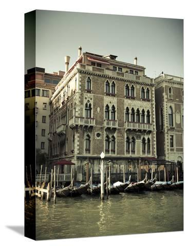 Hotel Bauer Palazzo, Grand Canal, Venice, Italy-Jon Arnold-Stretched Canvas Print