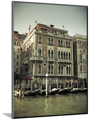 Hotel Bauer Palazzo, Grand Canal, Venice, Italy-Jon Arnold-Mounted Photographic Print