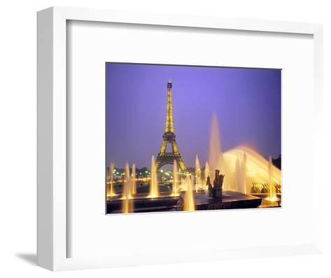 Eiffel Tower, Paris, France-Peter Adams-Framed Art Print