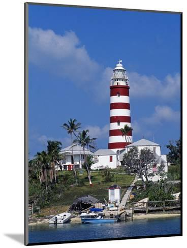 Lighthouse at Hope Town on the Island of Abaco, the Bahamas-William Gray-Mounted Photographic Print