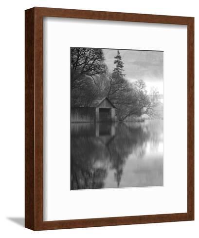 Boathouse, Cumbria, England, UK-Nadia Isakova-Framed Art Print