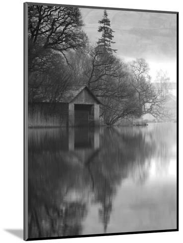 Boathouse, Cumbria, England, UK-Nadia Isakova-Mounted Photographic Print
