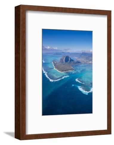 Le Morne Brabant Peninsula, Black River (Riviere Noire), West Coast, Mauritius-Jon Arnold-Framed Art Print