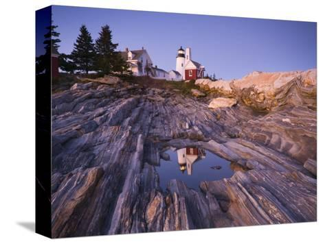 Pemaquid Point Lighthouse, Maine, USA-Alan Copson-Stretched Canvas Print