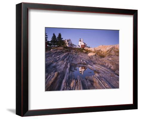 Pemaquid Point Lighthouse, Maine, USA-Alan Copson-Framed Art Print