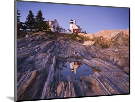 Pemaquid Point Lighthouse, Maine, USA-Alan Copson-Mounted Photographic Print