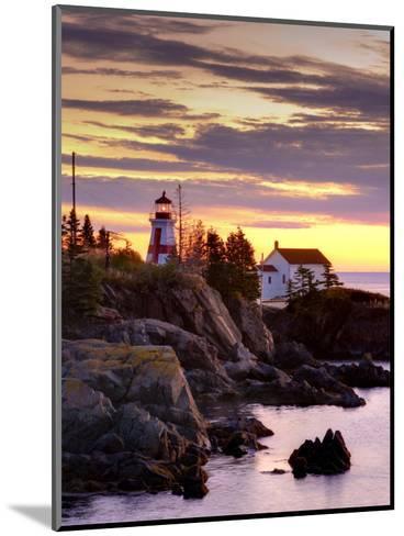 New Brunswick, Campobello Island, East Quoddy Lighthouse, Canada-Alan Copson-Mounted Photographic Print