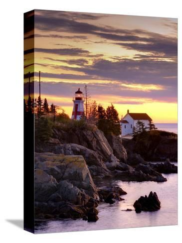 New Brunswick, Campobello Island, East Quoddy Lighthouse, Canada-Alan Copson-Stretched Canvas Print