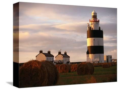 The Hook Head Lighthouse in County Wexford Was Built in the 13th Century Ireland-Doug McKinlay-Stretched Canvas Print