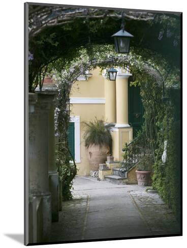 Lanterns Hanging in a Garden, Capri, Naples, Campania, Italy--Mounted Photographic Print