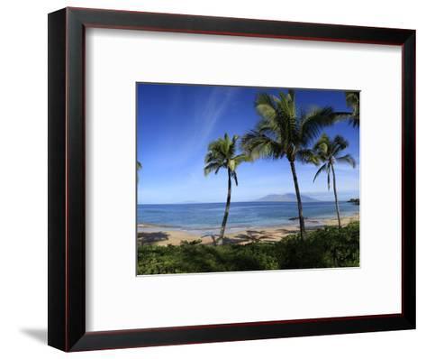 Palm Trees on the Beach, Maui, Hawaii, USA--Framed Art Print
