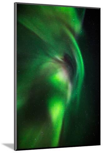 Aurora Borealis or Northern Lights, Lapland,Sweden--Mounted Photographic Print