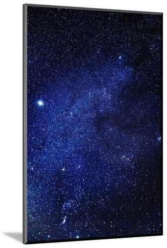 Milky Way Galaxy, Lapland, Sweden--Mounted Photographic Print