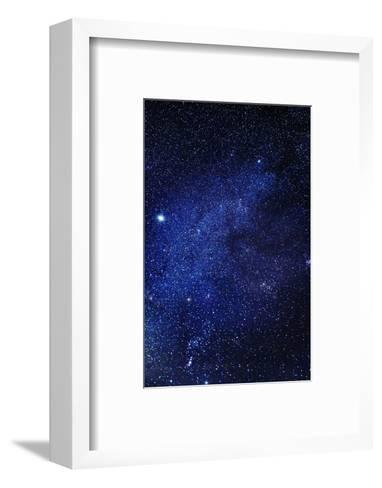 Milky Way Galaxy, Lapland, Sweden--Framed Art Print