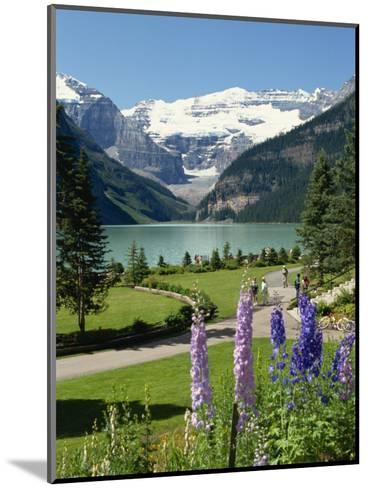 Lake Louise, Banff National Park, UNESCO World Heritage Site, Rocky Mountains, Alberta, Canada-Robert Harding-Mounted Photographic Print