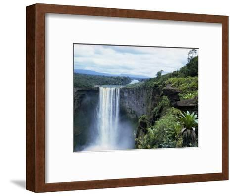 Kaieteur Falls, Guyana, South America-Robert Cundy-Framed Art Print