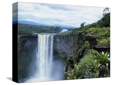 Kaieteur Falls, Guyana, South America-Robert Cundy-Stretched Canvas Print
