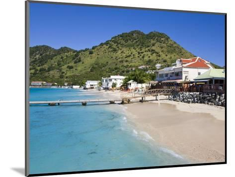 Beach at Grand-Case on the French Side, St. Martin, Leeward Islands, West Indies, Caribbean-Gavin Hellier-Mounted Photographic Print