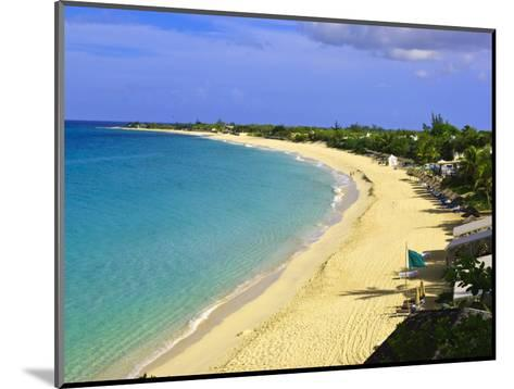 Long Beach, St. Martin, Netherlands Antilles, Caribbean-Michael DeFreitas-Mounted Photographic Print
